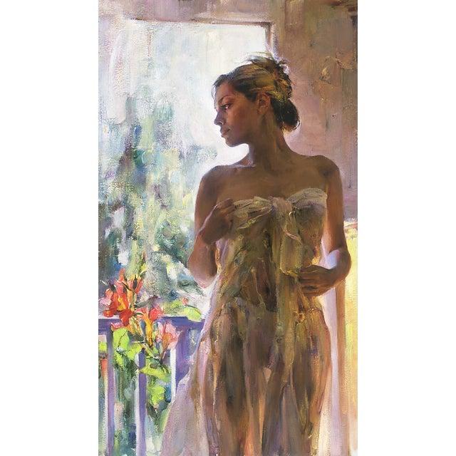 "Garmash ""Rare Beauty"" Giclee on Canvas - Image 2 of 2"