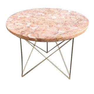 Rene Brancusi Marble Side Table