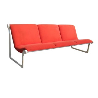 Vintage Knoll Hannah Morrison Three Seat Sling Sofa