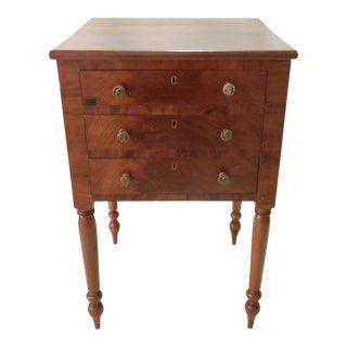 English Mahogany Side Table