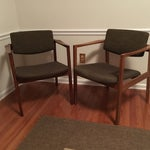 Image of Mid-Century Modern Chairs - A Pair