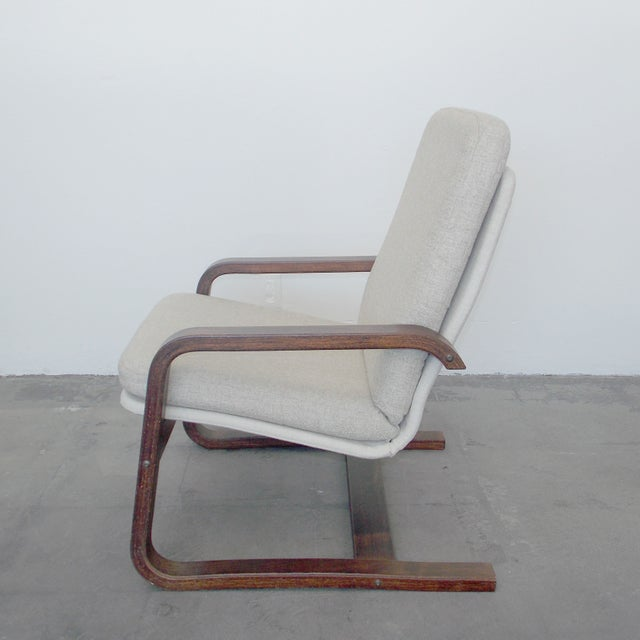 Bentwood Lounge Chair - Image 4 of 8