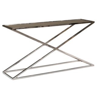 Sarreid Ltd Metro Stainless Console Table