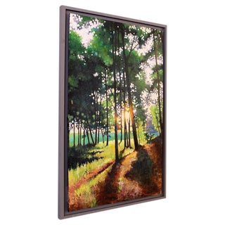 "Original Acrylic Painting, Landscape by Kevin Conklin, ""Poet's Walk 3"""