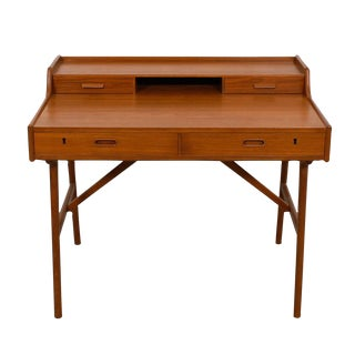 Iversen Danish Teak Writing Desk
