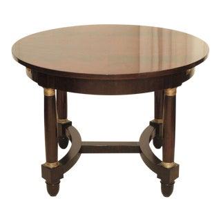 Empire-Style Mahogany Center / Dining Table