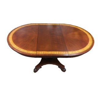 Vintage Baker Mahogany Inlay Table
