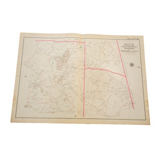 Antique Bedford, NY Map