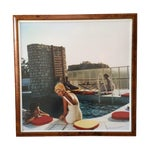 Image of Framed Photograph - Slim Aarons Poolside