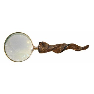 Carved Horn Magnifying Glass