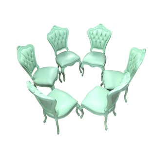 New Polart Mint Chairs - Set of 6