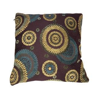 Crate & Barrel Patterned Pillow