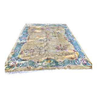 Chinese Hand Knotted Nichols Wool Rug - 8' × 11'