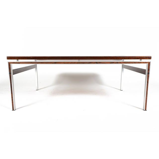 Danish Modern Ceramic Tile Rosewood Coffee Table Chairish