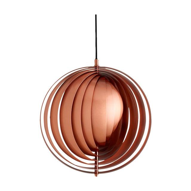 Image of Copper Panton Verpan Moon Pendant - Retail $1115