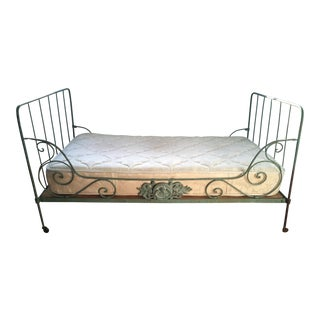 19th Century French Iron Daybed