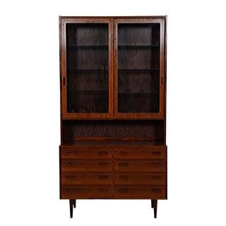 Danish Modern Bookcase / Display Cabinet in Rosewood