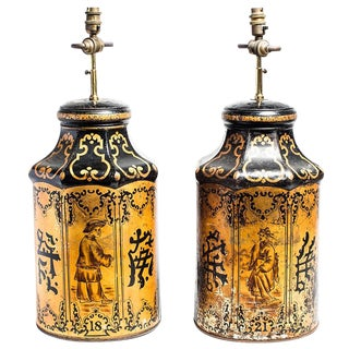 TEA TIN LAMPS