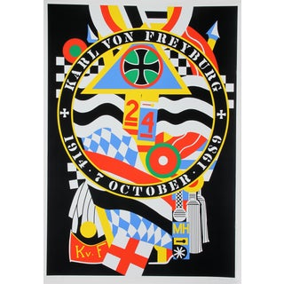 Hartley Elegies: KvF I Serigraph by Robert Indiana