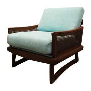 Mid-Century Modern Pearsall-Style Lounge Chair