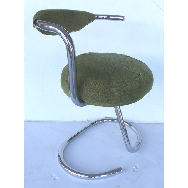 Arrben Tubular Chrome Dining Chairs - Set of 6 - Image 3 of 8
