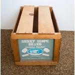 Image of Vintage Peach Crate
