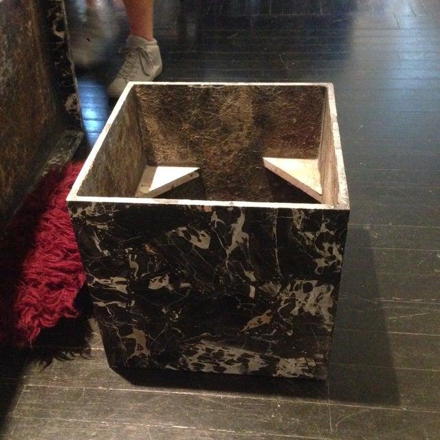 Italian Black Marble Coffee Table - Image 6 of 8