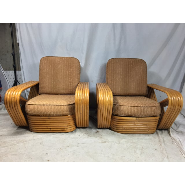 Paul Frankl for Kane Kraft Rattan Chairs - A Pair - Image 2 of 7