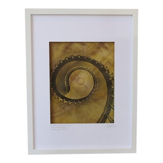 The Magnificent Spiral Colored Print
