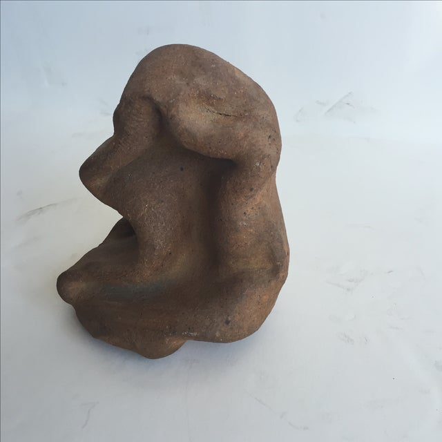 Terracotta Free-Form Sculpture - Image 2 of 9