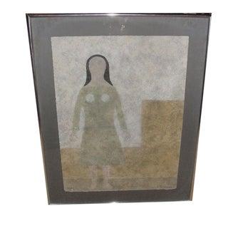 """Rufino Tamayo Original Print """"mixografia"""" (1899-1991)"""