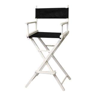 Black & White Gold Medal Director's Chair