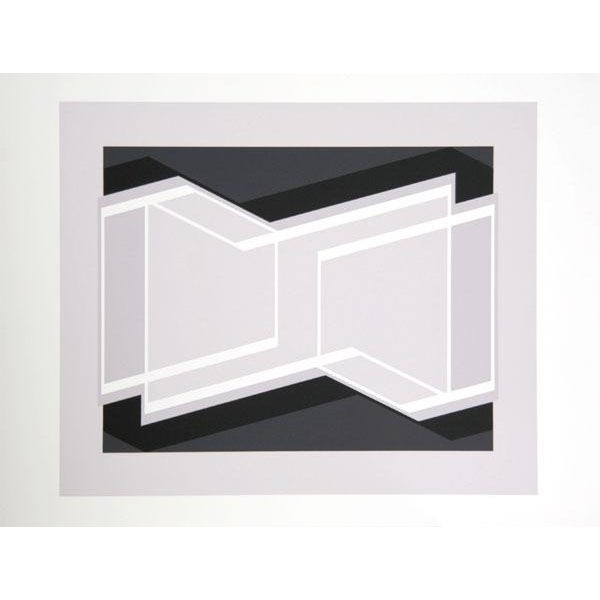 "Josef Albers ""Portfolio 1, Folder 29, Image 1"" Print - Image 2 of 3"