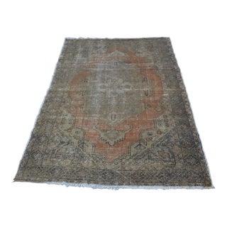 Turkish Handwoven Carpet - 4′3″ × 6′2″