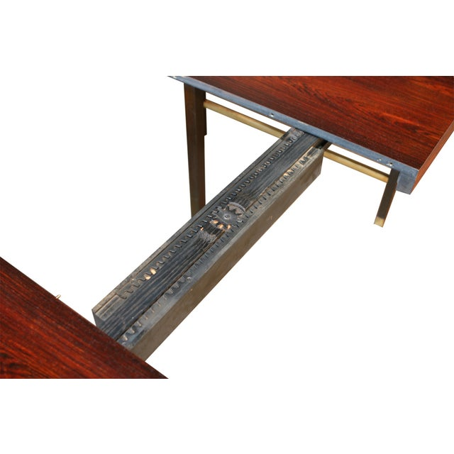 Harvey Probber Brazilian Rosewood Dining Table - Image 6 of 9