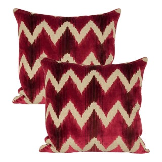 Lee Jofa Belgian Velvet Accent Pillows - Pair