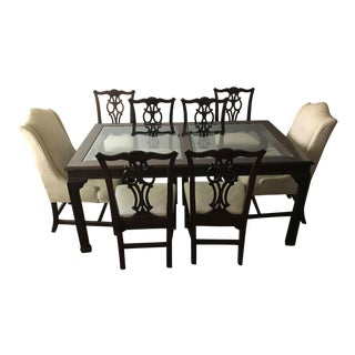 Ethan Allen Georgian Court Style Dining Set