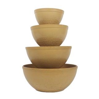 Ellingers Agatized Wood Bowls - Set of 4