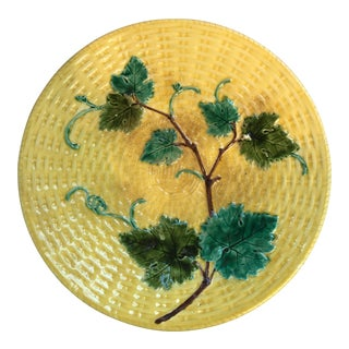 French Majolica Plate