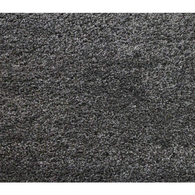 "Dark Gray and Charcoal Shag Rug - 5'4 ""x7'8'' - Image 5 of 6"
