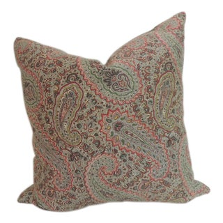 Ralph Lauren Paisley Decorative Pillow