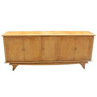 French Art Deco Sycamore Buffet
