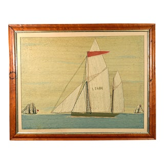Sailor's Woolwork of the Lowestoft Lugger