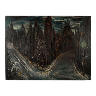 Gothic Cityscape Painting