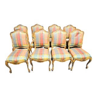 French Country Dining Chairs - Set of 8