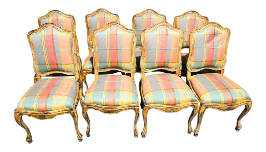 french country dining chairs set of 8