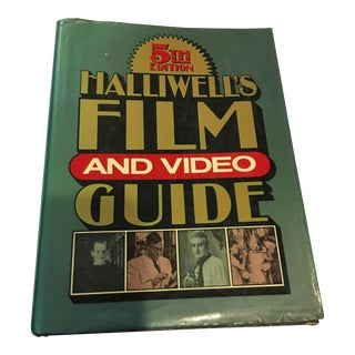 1986 Halliwell's Film & Video Guide Book