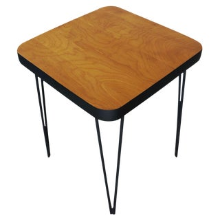 Mid-Century Hairpin Side Table