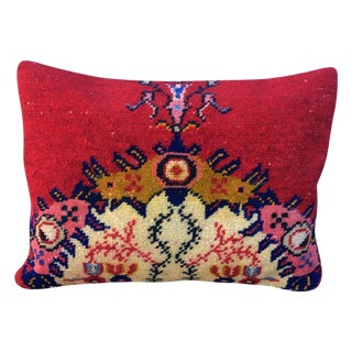 Red Turkish Accent Pillow