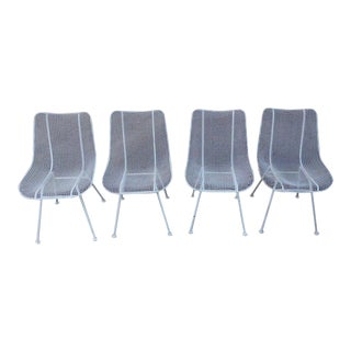 Russell Woodard Patio Dining Chairs - Set of 4